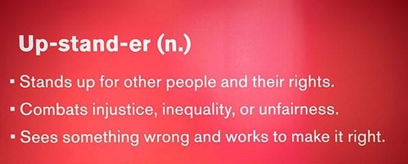 Upstander Definition