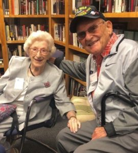 Holocaust Survivor Hannah Deutch & Liberator Alan Moskin