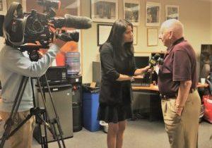 Rebecca Solomon interviewing Peter Somogyi
